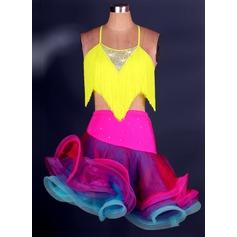 Donna Abbigliamento danza Dello spandex Ballo latino Completi
