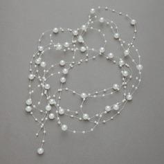 Caliente Perlas de imitación Diademas