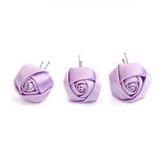 Gorgeous Satin Bridal Pins/Flowers-3pcs(042025041)