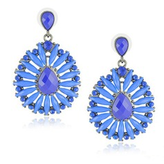 Chic Alloy Resin Women's Fashion Earrings