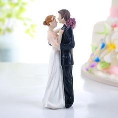 Braut und Bräutigam Harz Hochzeit Torten-Dekoration
