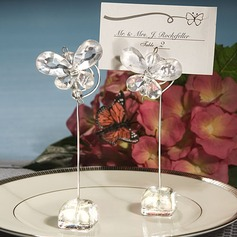 Butterfly Acrylic Place Card Holders Set Of 4 (051024913)