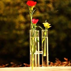 En forme de tube Verre Vase