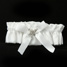 Butterfly Story Satin Wedding Garter (104019294)