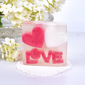 """""""Love"""" Double Hearts Soaps"""