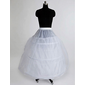 Nylon Ball Gown Full kappe 3 Tier Floor lengde Slip stil / Wedding Petticoats (037023562)