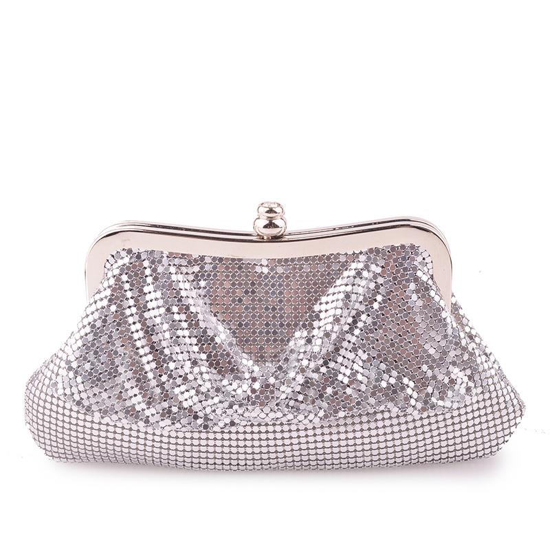 Elegant/Charming/Shining Aluminum Clutches/Evening Bags