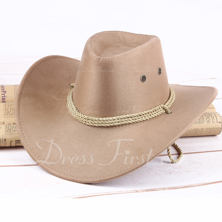 ostaa uudet tarjoukset ostaa halpaa [€ 18.08] Miesten Vintage huopa Cowboy-hattu - JJsHouse