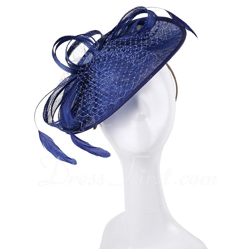 Señoras' Simple/Niza/Pretty Batista Tocados/Derby Kentucky Sombreros/Sombreros Tea Party