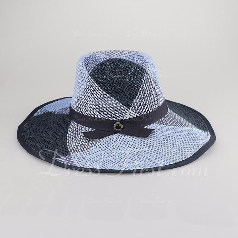 Ladies ' Piękny/Prosty Poliester Floppy Hat/Słomiany kapelusz/Plaża / niedz Kapelusze