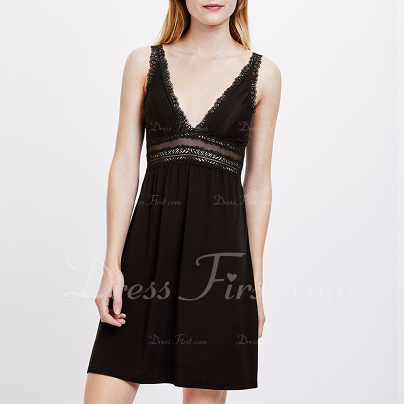 Bridal/Feminine Simple And Elegant Polyester/Spandex/Modal Slips