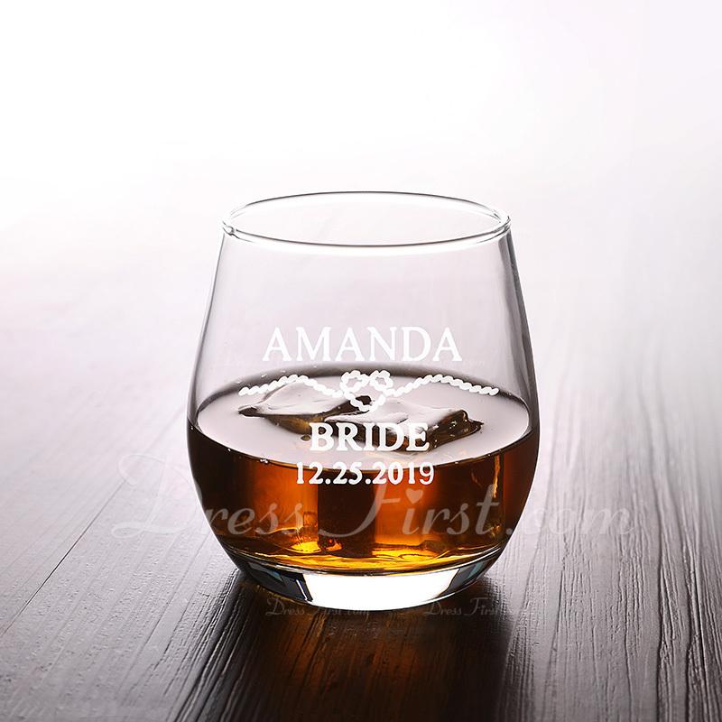 花嫁のギフト - 個別の クラシック 魅力的 Special ガラス ガラス製品とバーバー