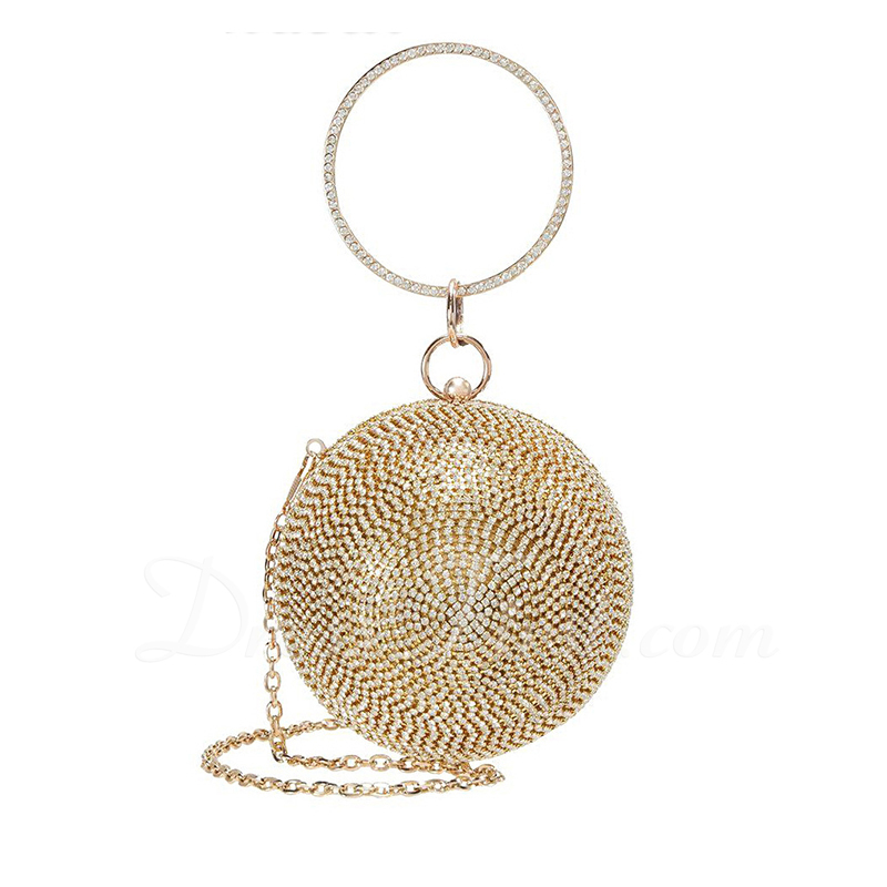 Charming/Bright/Attractive Crystal/ Rhinestone Top Handle Bags/Bridal Purse/Evening Bags
