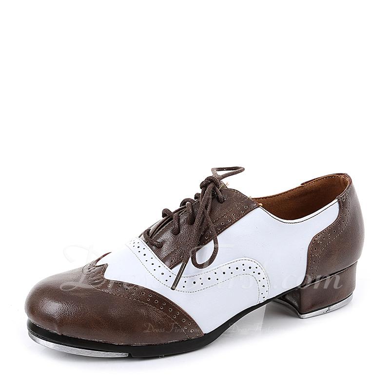 Unisexe Vrai cuir Claquettes Chaussures de danse