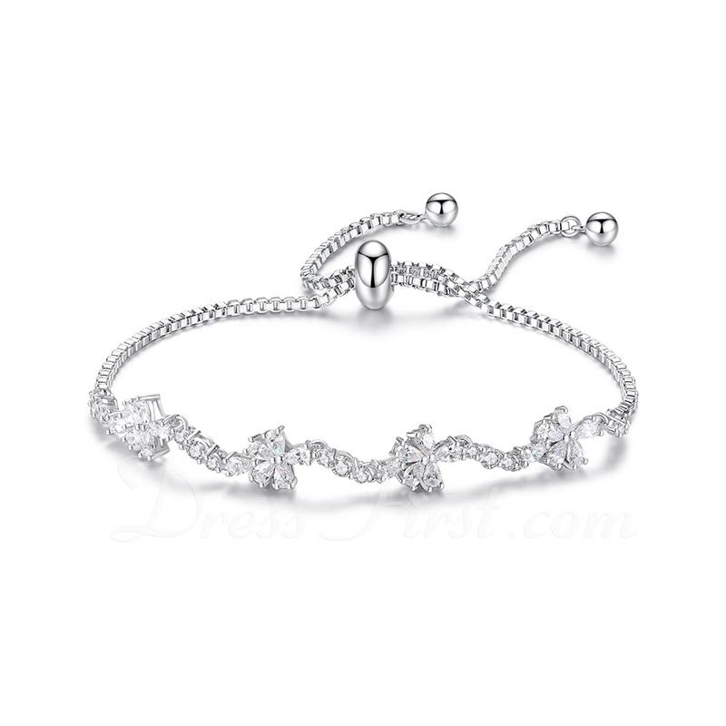 Cadena delicada Bracelets De Mariée Bracelets de demoiselle .d'honneur Bracelets Bolo - Regalos De San Valentín Para Ella