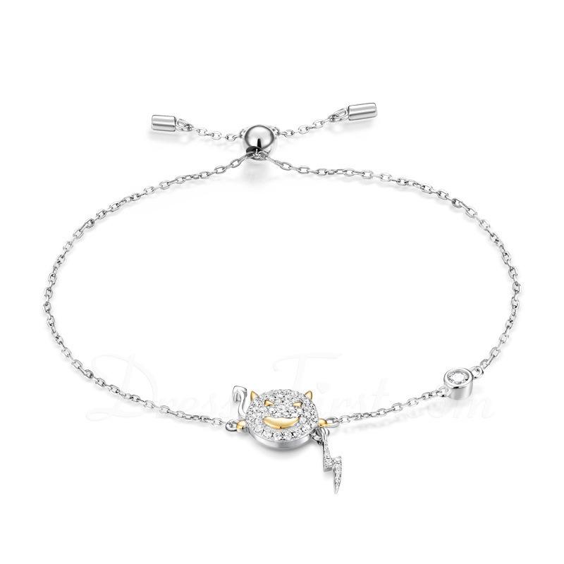 Antioxidante Cadena delicada Bracelets De Charme Bracelets Bolo -
