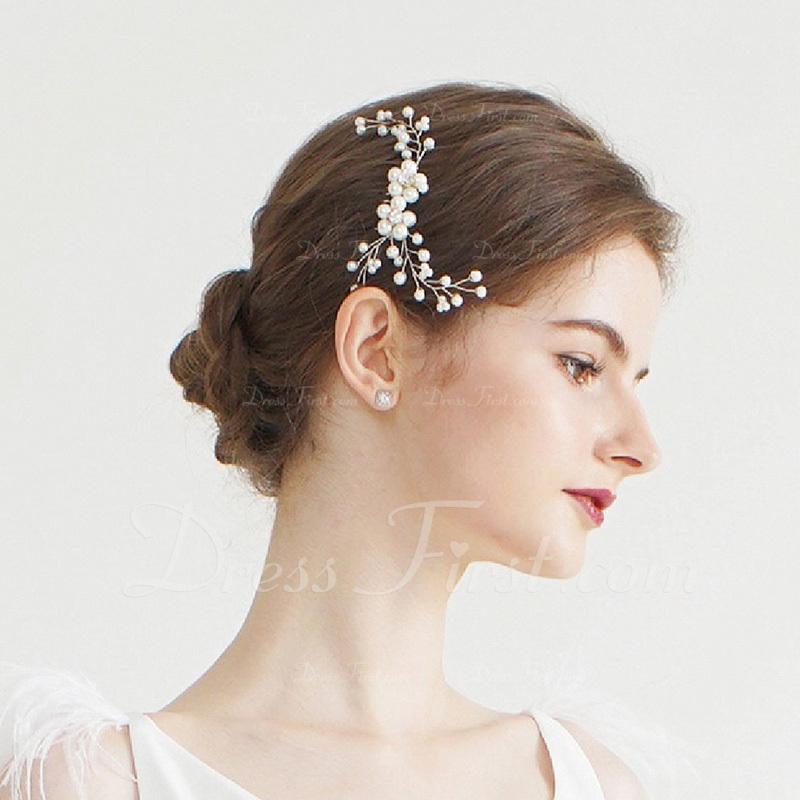Damer Klassisk stil Legering/Imitert Perle Hårnåler/Kammer og Barrettes med Venetianske Perle