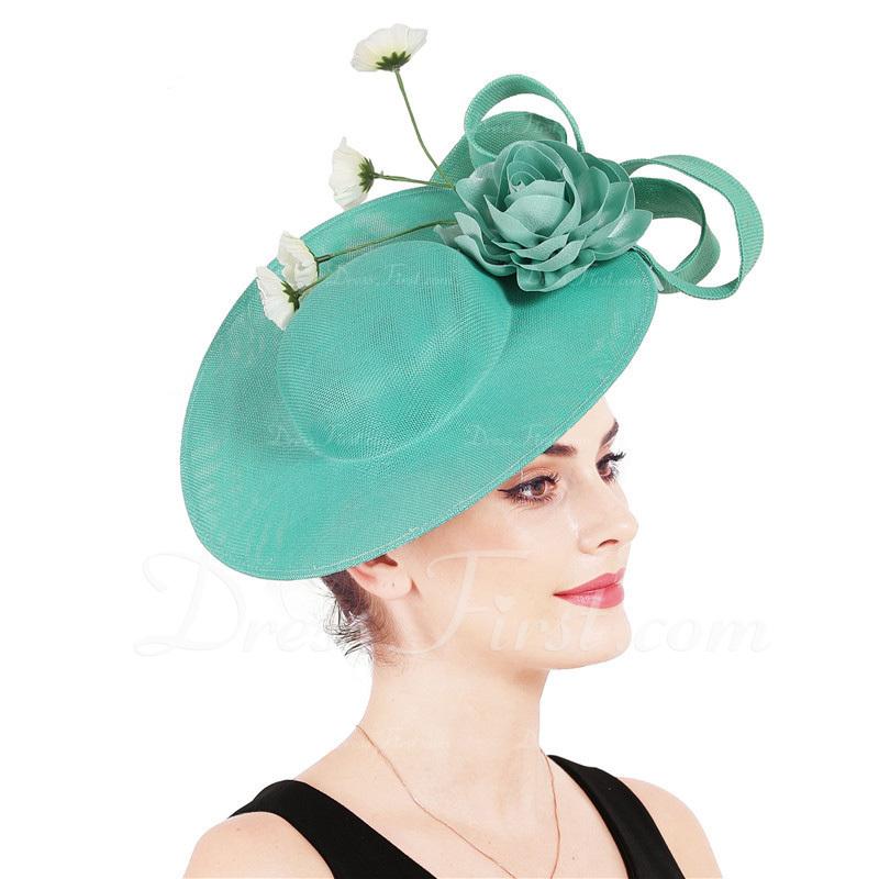 Señoras' Glamorosa/Elegante con Flor Tocados/Derby Kentucky Sombreros