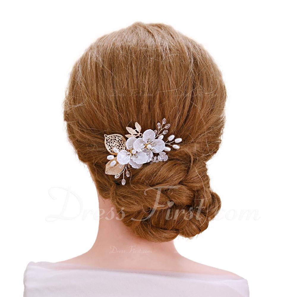 Señoras Elegante Rhinestone/cobre Horquillas (Se venden en una sola pieza)