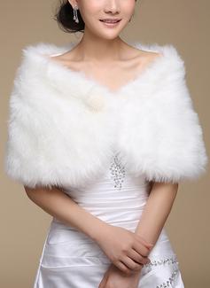 ウール 結婚式 ジャケット/ラップ