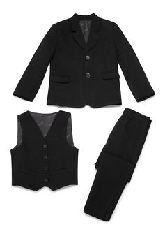 gutter 3 stykker Fast Suits til ringbærere /Side Boy Suits med Jakke vest Bukser