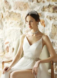 Maravilloso/Exquisito Tul Fajas con Aleación/Diamantes de imitación