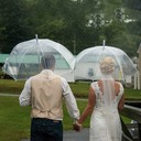 Wedding Umbrellas (sold In A Single Piece)