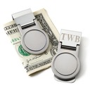 Groomsmen Gifts - Personalized Modern Stainless Steel Money Clip (258171970)