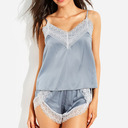 Casual Spandex Cami Sets