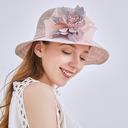 Ladies ' Klasyczny/Elegancki Bielizna Plaża / niedz Kapelusze/Kapelusze Kentucky Derby/Czapki Tea Party