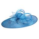 Señoras' Único/Exquisito/Llamativo Batista con Flor Derby Kentucky Sombreros/Sombreros Tea Party