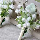 ハンドタイド Flower Decoration ブートニエール (単一片で販売) -