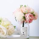 Ręcznie wiązanej Kwiat jedwabiu/Plastikowy Dekoracje (Sprzedawane w jednym kawałku) -