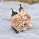 Style Classique Rond Satiné Bouquets de mariée (vendu en une seule pièce) -