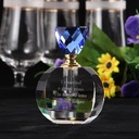 Personalized Glass Perfume Bottle