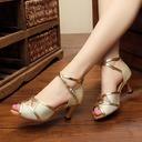 Femmes Similicuir Sandales Escarpins Latin Fête avec Ouvertes Chaussures de danse