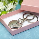 Groom Gifts - Personalized Modern Alloy Keychain (Set of 4) (257175129)