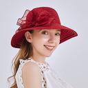 Señoras' Elegante/Simple Lino con Bowknot Sombreros Playa / Sol/Sombreros Tea Party