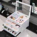 花嫁のギフト - 美しい クラシック エレガント 木製 宝石箱