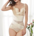 Women Feminine/Sexy Chinlon/Nylon Breathability/Moisture Permeability High Waist Panties/Waist Cinchers Shapewear