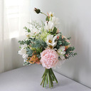 Femenino Forma libre Flores de seda Ramos de novia -