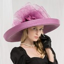 Ladies ' Moda/Uroczy/Wyjątkowy/Wzrok/Wysoka jakość/Artystyczny Poliester Beret Hat/Kapelusze Kentucky Derby