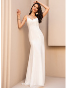 Trumpet/Mermaid V-neck Floor-Length Evening Dress