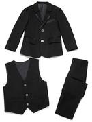 Ragazzi 3 pezzi Elegante Abiti per Paggetti /Page Boy Suits con Giacca ovest Pantaloni