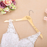 Bridesmaid Gifts - Personalized Wooden Hanger