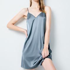 Brud/Feminin Gorgeous polyester Backless Nattkläder/Slips