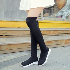 Women's Wedge Heel Boots Over The Knee Boots With Others shoes