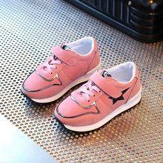 Fille de Bout fermé Suède talon plat Chaussures plates Sneakers & Athletic avec Velcro