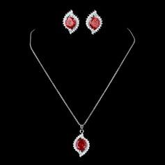 Необычные Циркон женские Комплекты ювелирных изделий