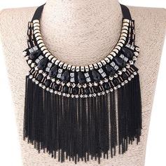 Chic Legering Duk Kvinnor Mode Halsband (Säljs i ett enda stycke)
